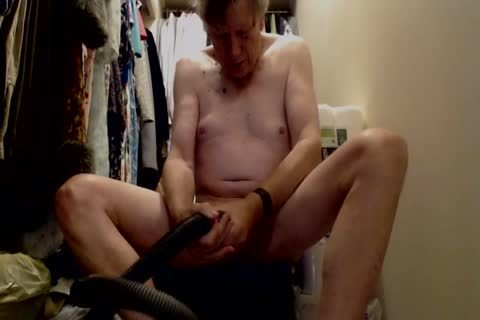 daddy man pleasure With Vacuum Cleaner