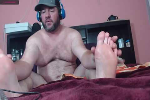 chunky web camera man Moaning Frotting Accidental cum discharged On Phone