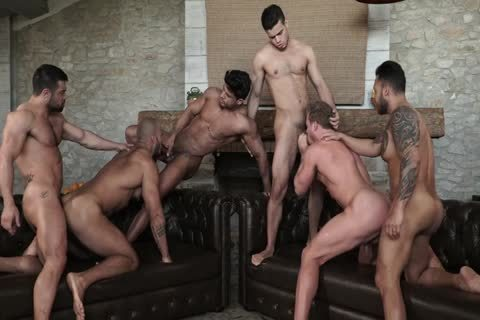 unprotected fun With Six 6-pack Hunks