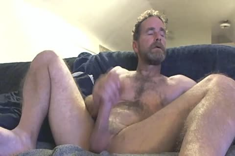 daddy Fingering His knob In Front Of The Camera