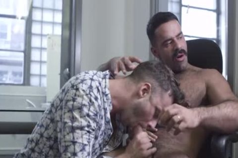 The Office, Part 1 – Teddy Torres pokes Damon Heart bare
