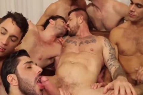 ROCCO orgy-10 guy IN ACTION,suck,bang & sperm-WOW!