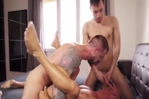 Aymeric Atomished By 2 Gigantic cocks