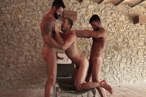 Victor D'Angelo, Drake Rogers And Andy Star