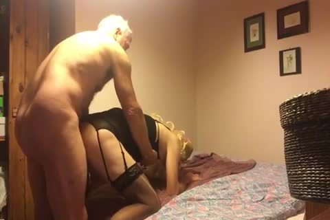 Rimmed And plowed By slutty grandpa