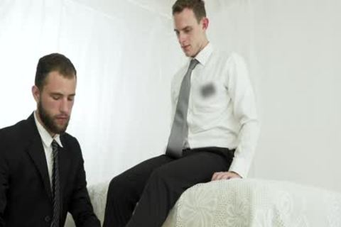 naughty Missionary twink acquires Creampied By A Priest