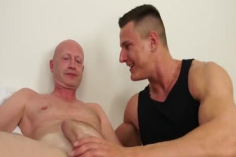 lucky grand-dad Barebacks A Muscle fellow
