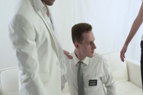 Religious lad Services Two giant Uncut dongs
