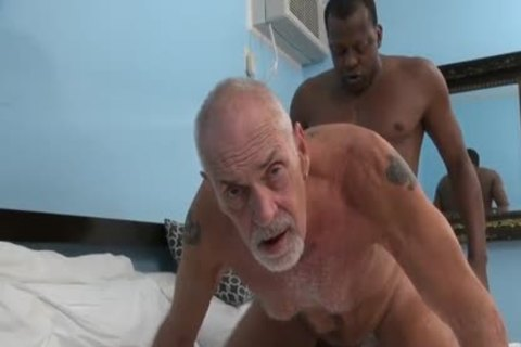 black pounding grandad