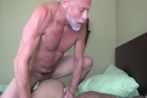 daddy man nails His Muscled black Toyboy