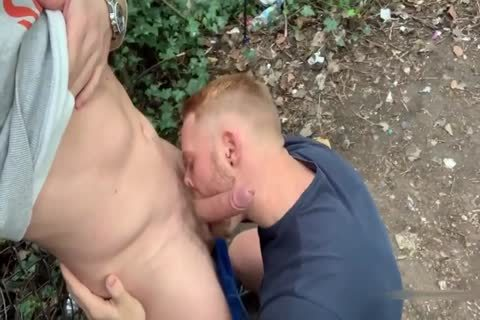 Two Brit boys Have Sex In Woods Third lad Joins In