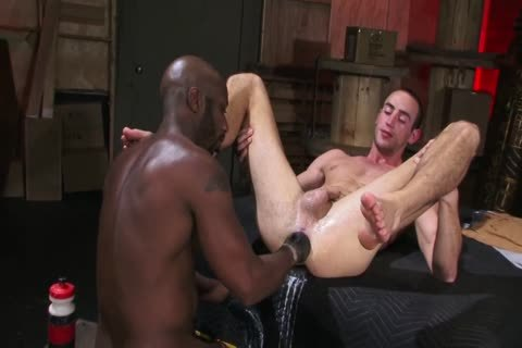 Warehouse Fists - Interracial